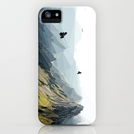 Mountain Scene iPhone Case