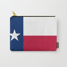Texas State Flag, Authentic Version Carry-All Pouch