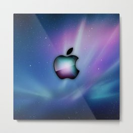 apple nebula Metal Print