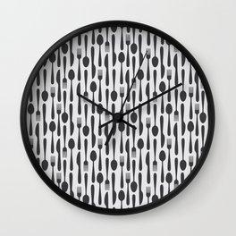 Kithen Cutlery Wall Clock