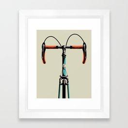 Bike Portrait 3 Framed Art Print
