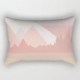 Long ride home Rectangular Pillow