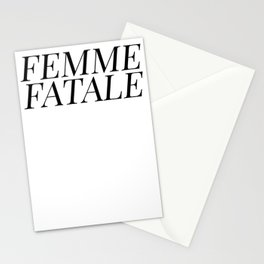 Femme Fatale Stationery Cards