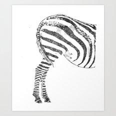 More Ass Than Horse Art Print
