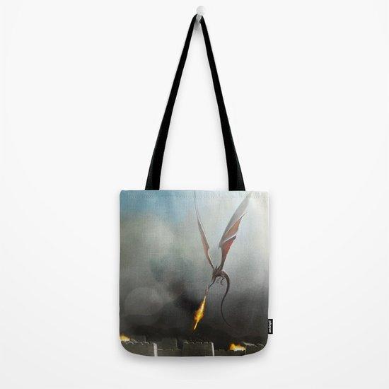 Desert Dragon Tote Bag