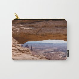 Mesa Arch at Canyonlands National Park, Utah Carry-All Pouch