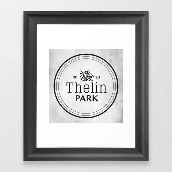 Thelin Park Framed Art Print