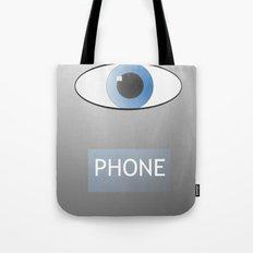 Eye Phone Tote Bag