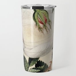 """A Fairy Resting in a Hammock"" by Amelia Jane Murray Travel Mug"