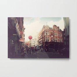 Chinatown , London. Metal Print