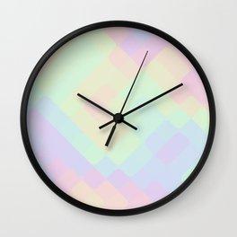 rhombus fantasy oily Wall Clock