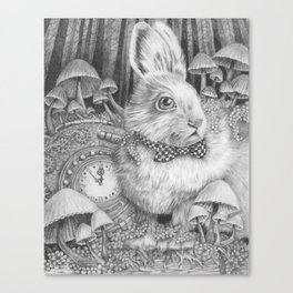 Always Late to the Party Canvas Print