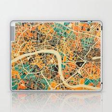 London Mosaic Map #3 Laptop & iPad Skin