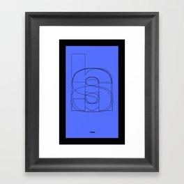 Die Neue Haas Grotesk (C-02) Framed Art Print