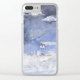 Splashing around at Grand Marais Clear iPhone Case