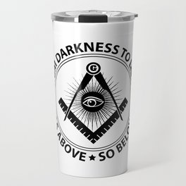 Freemasonry emblem Travel Mug