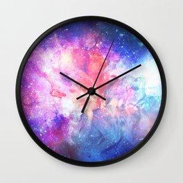 Nébuleuse Wall Clock