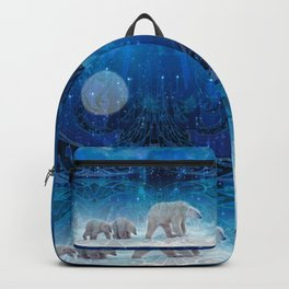 Arctic Journey of Polar Bears Backpack