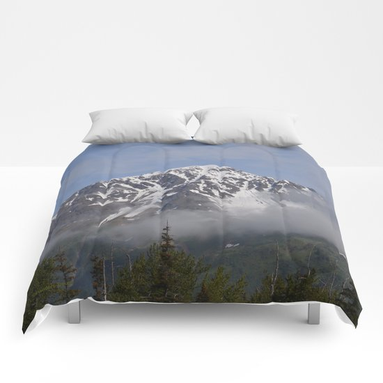 Seward Mountain Fog Comforters