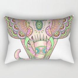 Mandala elephant psicodelic Rectangular Pillow