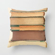 Bound Pages Throw Pillow
