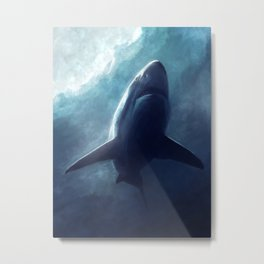 The Shark Metal Print
