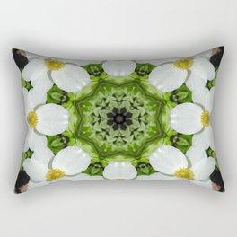 Canada anemone mandala 875 kal1 Rectangular Pillow