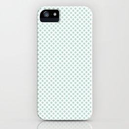 Honeydew Polka Dots iPhone Case