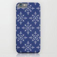 Paper Cut Snowflake Pattern Slim Case iPhone 6s