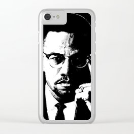 Malcolm X Clear iPhone Case