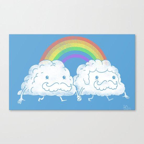 Proud Clouds Canvas Print