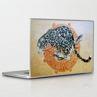 jaguar Laptop & iPad Skins featuring Jaguar by Quentin Bartholomew