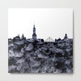 Warsaw Skyline Poland Metal Print