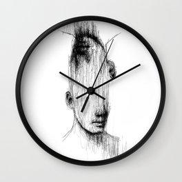 No Eyes Wall Clock