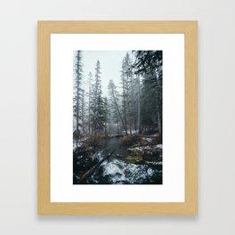 Canmore Framed Art Print