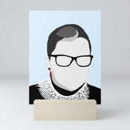 Long Live the Resistance: Ruth Bader Ginsburg Mini Art Print