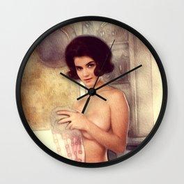 Sexy Vintage Pinup Wall Clock