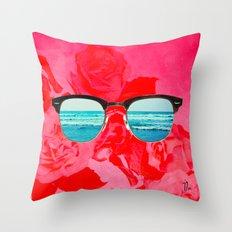 iSea Pink Throw Pillow