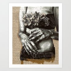 Repent and Give Art Print