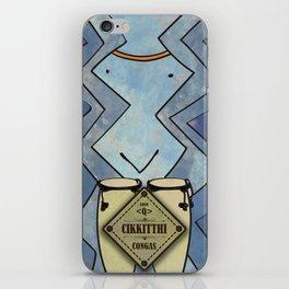 Cikkitthi from < Q > (Congas) iPhone Skin
