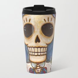 Blanca Nieves Day of the Dead Travel Mug