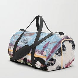 Racing Thru Dairyland Duffle Bag