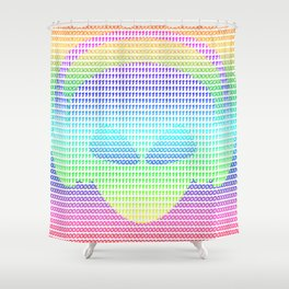The Alien Shower Curtain