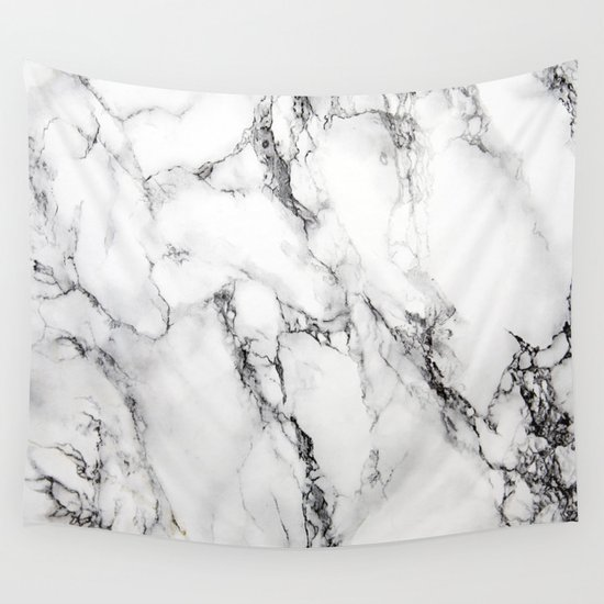 White Faux Marble Texture by artonwear