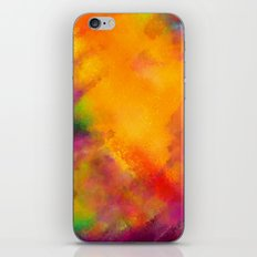 Purple - Abstract Digital Painting iPhone & iPod Skin