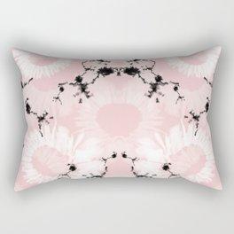 Pink Boheme Rectangular Pillow