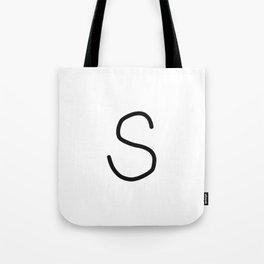 S LOVE Tote Bag