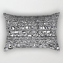 step letter Rectangular Pillow