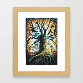 Glory Oak Framed Art Print
