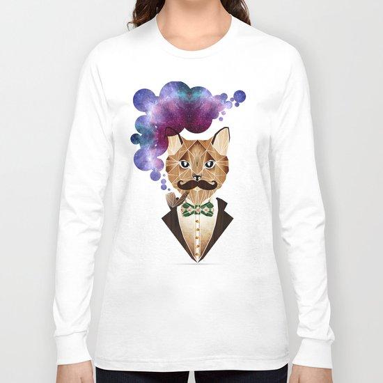 monsieur chat Long Sleeve T-shirt